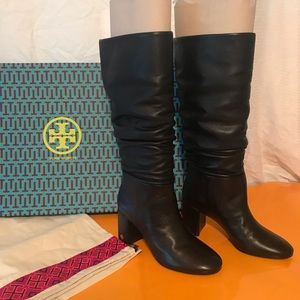 New TORY BURCH Brooke Slouchy Boot Size 8